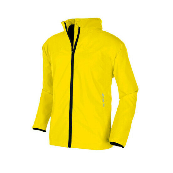 Target Dry Mac in a Sac 2 Unisex Kids Packaway Raincoat Jacket - Canary Yellow