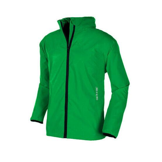 Target Dry Mac in a Sac 2 Unisex Kids Packaway Raincoat Jacket - Fern Green