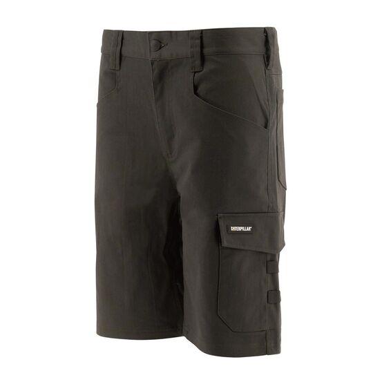 Caterpillar Tracker Stretch Cargo Shorts - Black