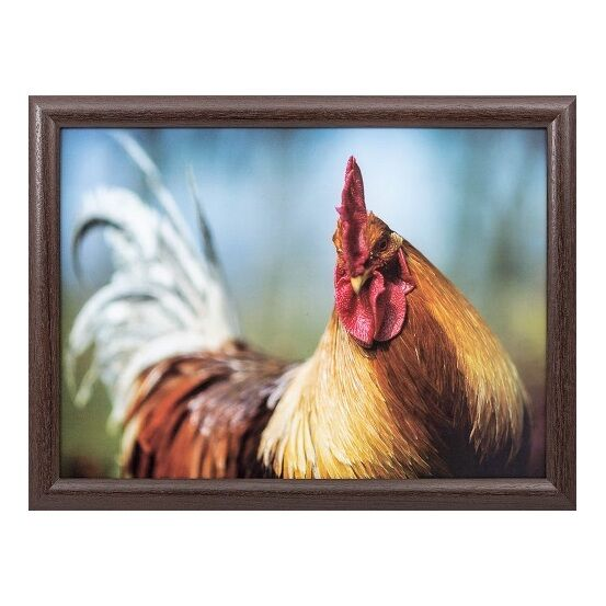Country Matters Lap Serving Tray - Cockerel