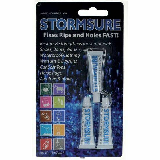 Stormsure Material Repair Adhesive - 15g (3 x 5g tubes)