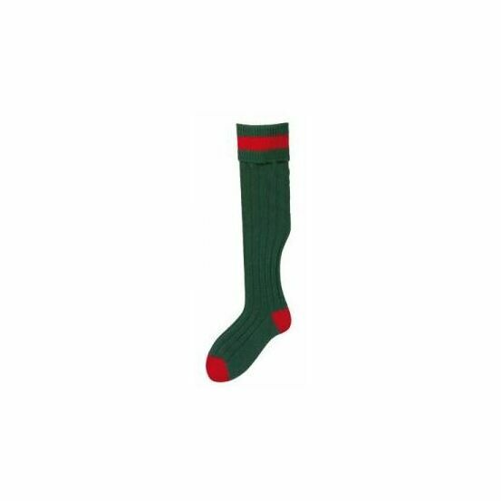 No.10 Stockings Bottle/Red Socks by Bisley