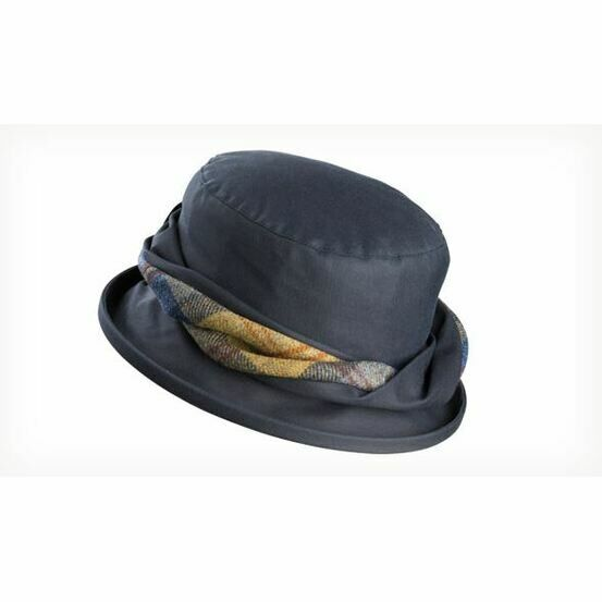 Olney EMMA NAVY (1007) Wax & Twist Hat