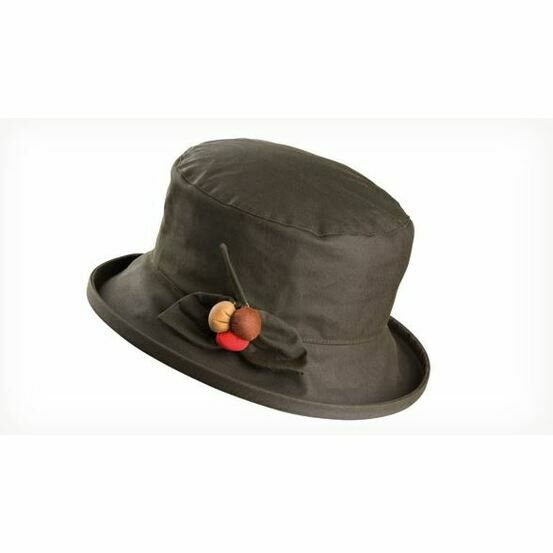 Olney BERRY OLIVE Wax & Berry Hat