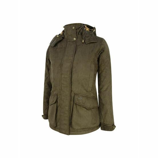 Hoggs Of Fife Ladies Hunting Jacket Rannoch - Brown