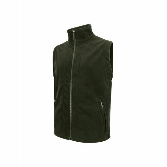 Hoggs Of Fife Rothesay Fleece Waistcoat - Green