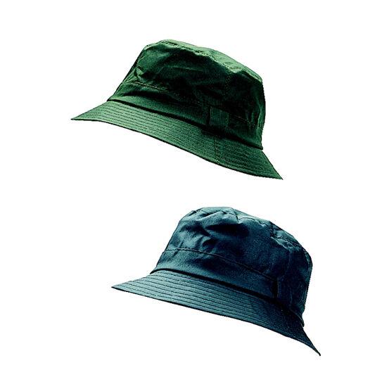 Hoggs Of Fife Waxed Bush Hats - Dark Olive