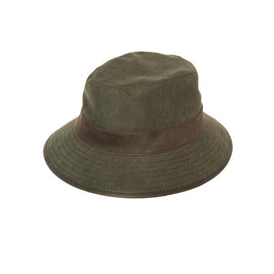 Hoggs Ranger Fleece-Lined Waterproof Hat - Dark Green