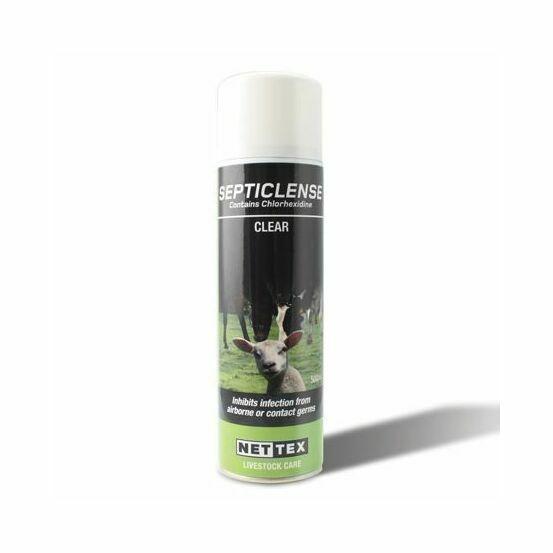 Nettex SeptiClense Spray - Clear