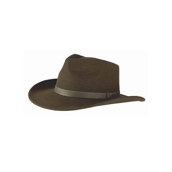 Hoggs Of Fife Perth Crushable Felt Fedora Hat