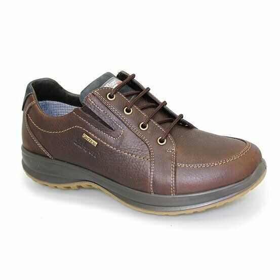 Grisport Ayr Leather Active Shoes - Brown