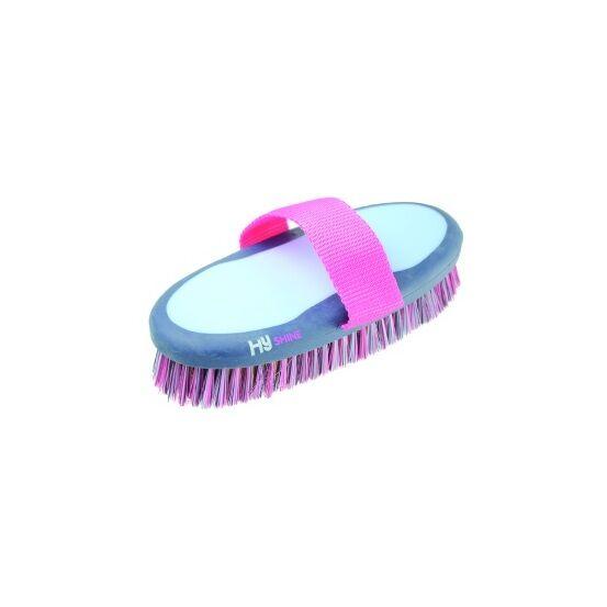 HySHINE Pro Groom Horse Body Brush