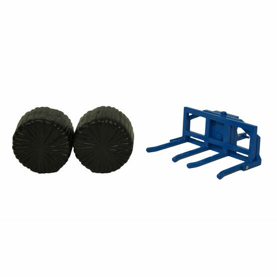 Britains Fleming  Double Round Bale Lifter 43265