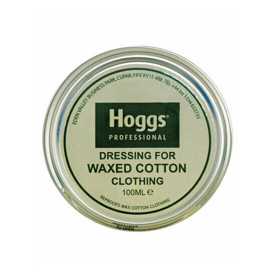 Hoggs of Fife Waxed Cotton Reproof Dressing Tin - 100ml