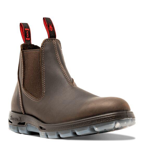Redback Leather Dealer Boots - Brown