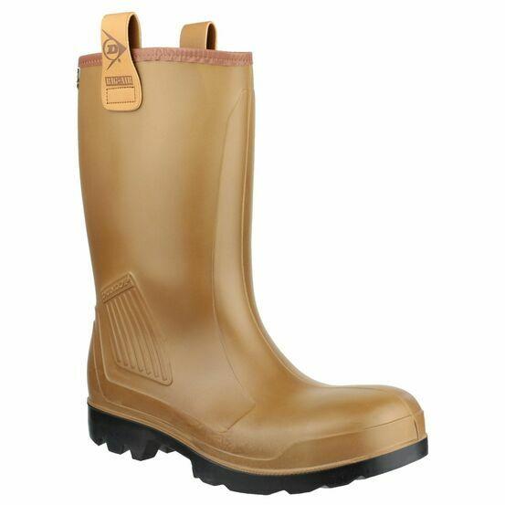 Dunlop Purofort Rig Air Full Safety Wellington Boots