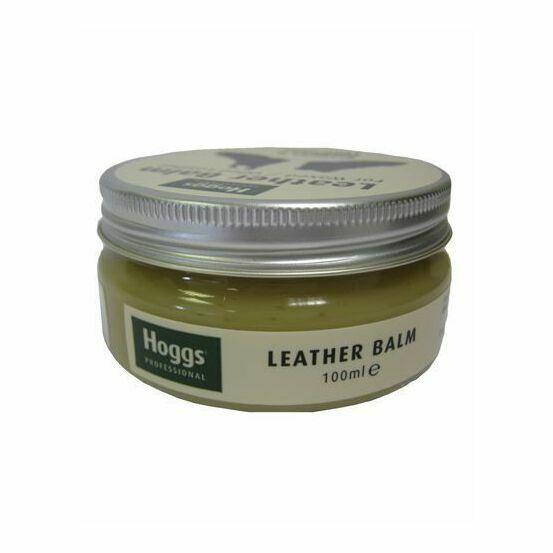 Hoggs Wax Leather Balm Conditioner & Restorer - 100ML