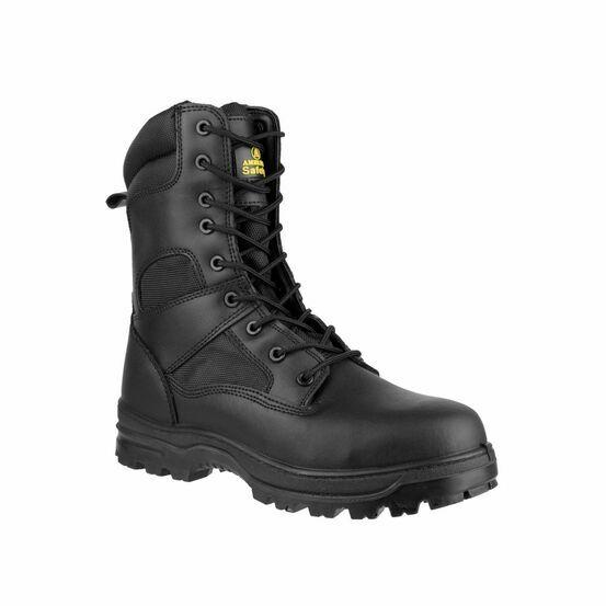 Amblers Safety FS009C Water Resistant Hi-Leg Boots (Black)