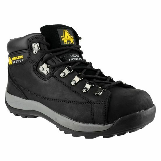 Amblers Safety FS123 Hardwearing Lace up Safety Boots (Black)