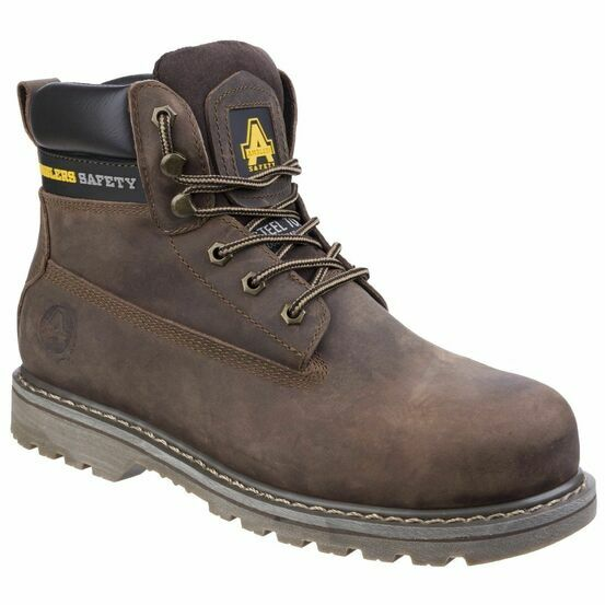 Amblers Safety FS164 Goodyear Welted Lace Up Boots (Brown)