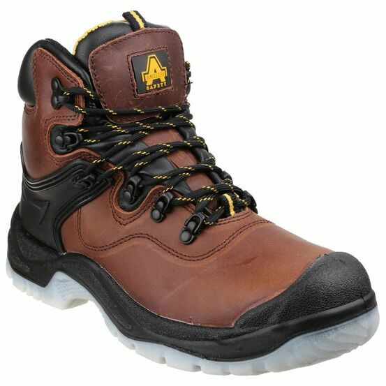 Amblers Safety FS197 Shock Absorbing Waterproof Boots (Brown)
