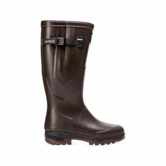 Aigle Parcours 2 Iso Welington Boots - Brown