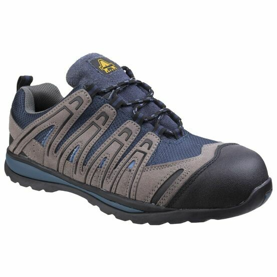 Amblers Safety FS34C Metal Free Lightweight Trainers (Blue)