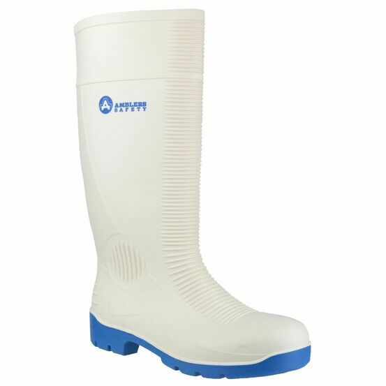Amblers Safety FS98 Steel Toe Food Safety Wellington Boots (White)