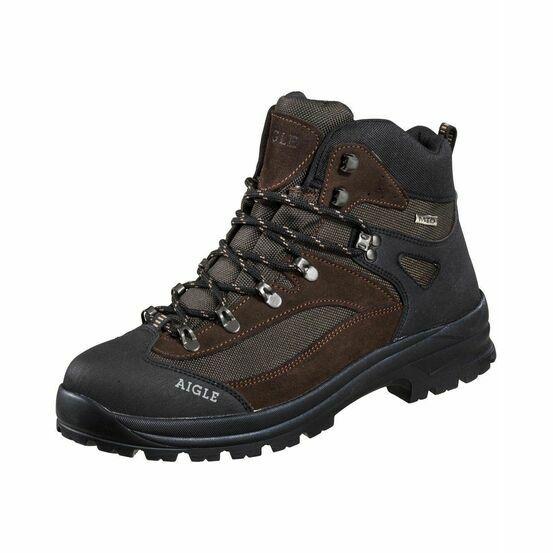Aigle Huntshaw MTC Walking Boots - Dark Brown