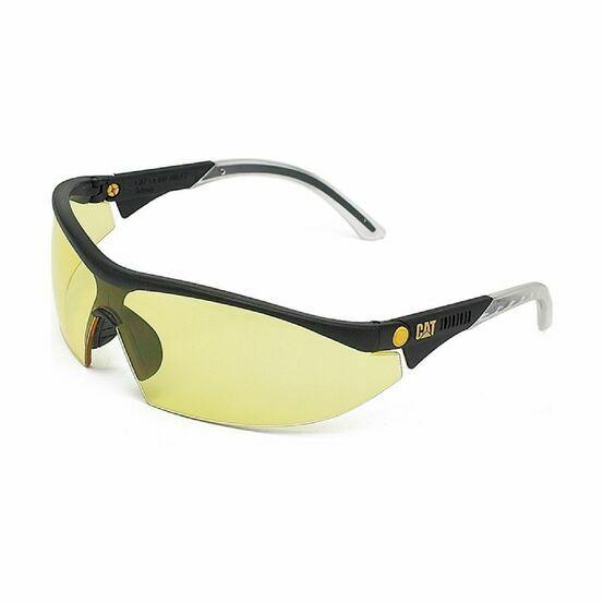 Caterpillar Digger Protective Safety Eyewear - Yellow