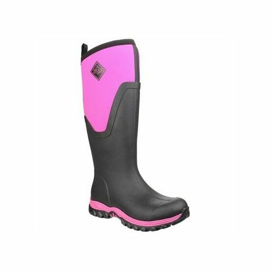 Arctic Sport Tall Wellington Boots - Pink/Black