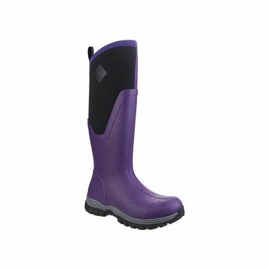 Arctic Sport Tall Wellington Boots - Purple