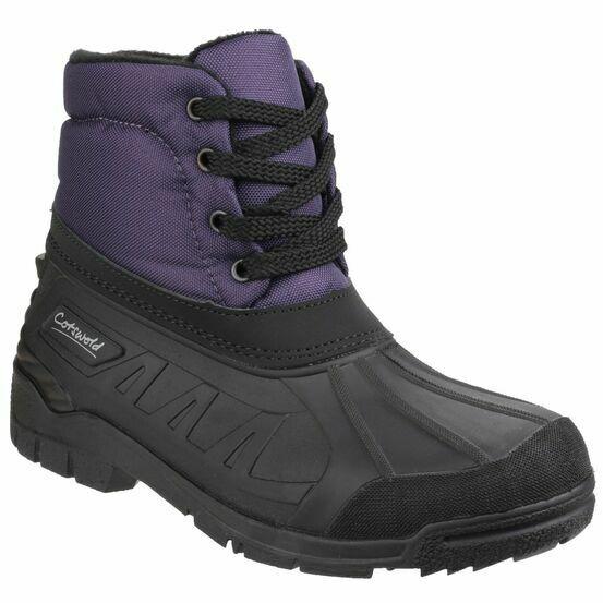 Cotswold Leoni Lace Up Canadian Boots (Purple)