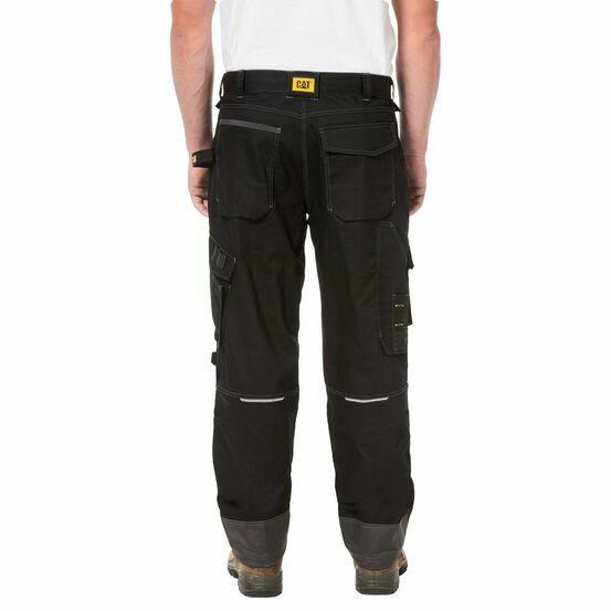 """Caterpillar H2O Defender Trouser 30"""" Leg - Black"""