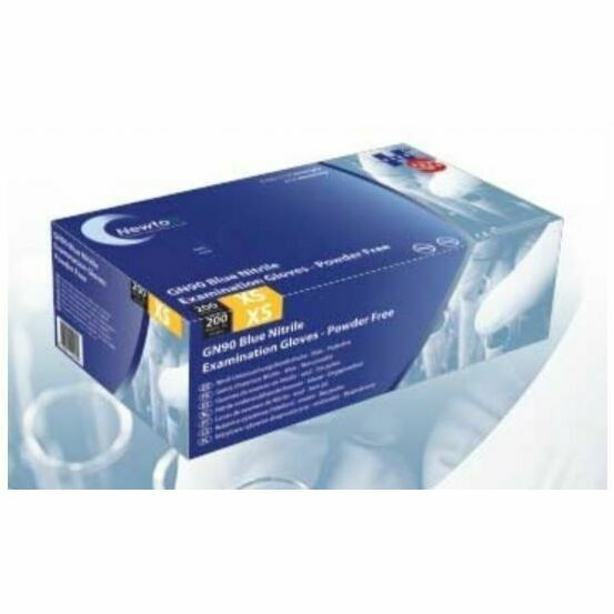 Nitrile Gloves GN90 Powder Free - Pack of 200