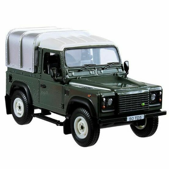 Britains Land Rover Defender 90 With Canopy - Green