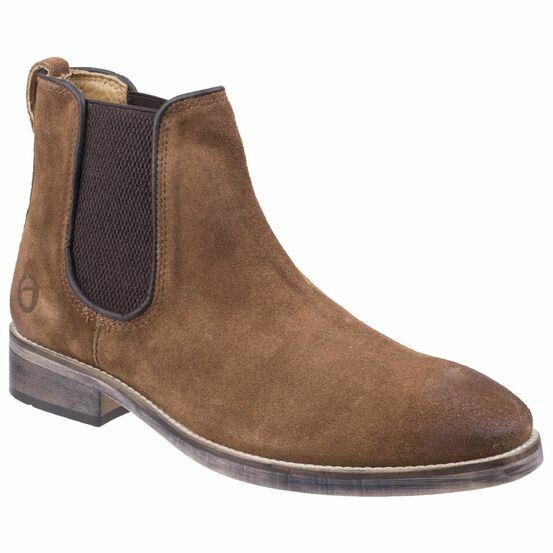Cotswold Corsham Chelsea Boot in Camel
