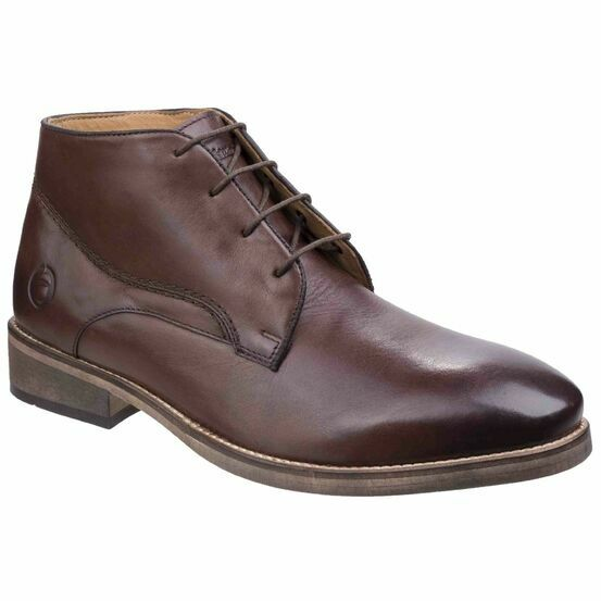 Cotswold Maugesbury Ankle Boot in Dark Brown
