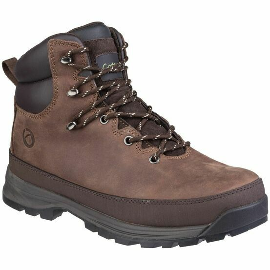 Cotswold Sudgrove Lace Up Boot in Brown