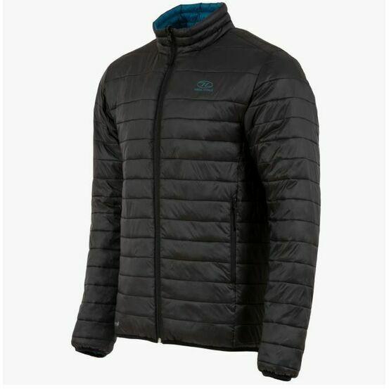 Highlander Coll Reversible Jacket - Black/Petrol