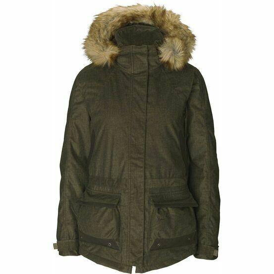 Seeland North Ladies Hooded Jacket - Pine Green
