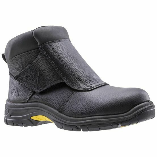 Amblers Safety AS950 Mens Leather Safety Welding Boots in Black