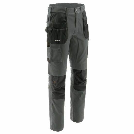 Caterpillar Essentials Knee Pocket Work Trouser in Dark Shadow