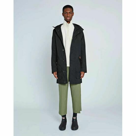 Hunter Original Waterproof Cotton Hunting Coat in Black