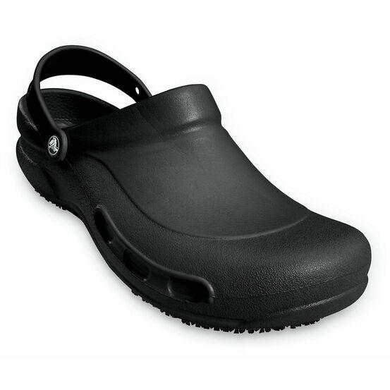 Crocs Bistro Slip-Resistant Work Clogs - Black