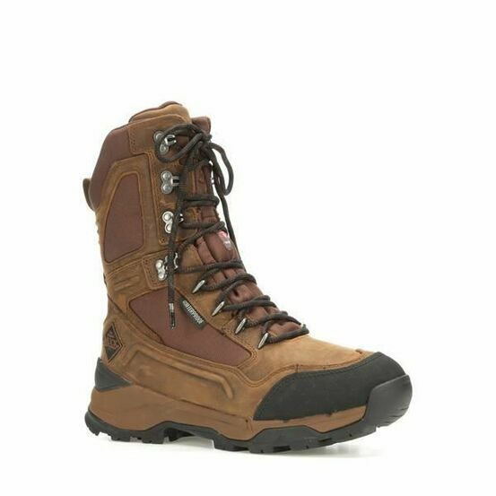 """Muck Boots Summit 10"""" Leather Boots in Brown"""