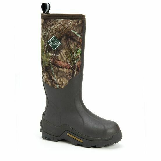 Muck Boots Woody Max Tall Wellington Boots in Mossy Oak