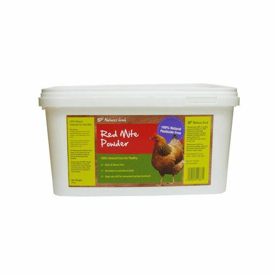Natures Grub Red Mite Powder - 2kg