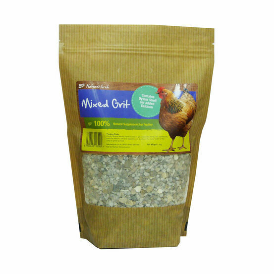Natures Grub Mixed Grit - 1.5kg
