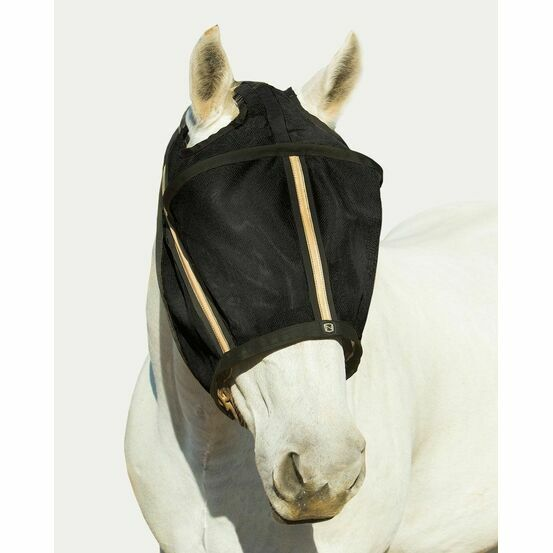 Noble Outfitters Guardsman Fly Mask No Ears - Black